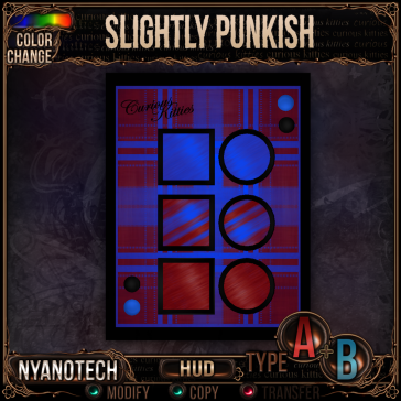 Nyanotech HUD [Type A+B] - Slightly Punkish